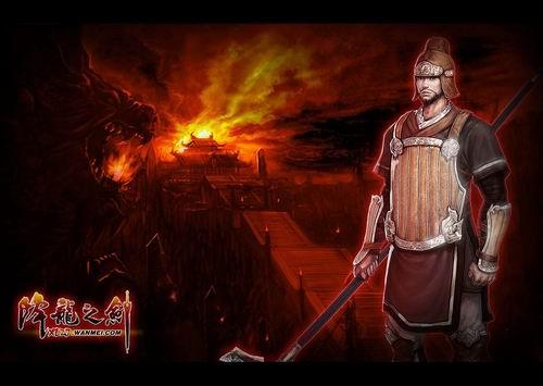 《降龙之剑》-在赵国投石车兵使用投石车破敌的时候