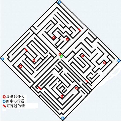 """专区:""""赫拉的迷宫""""地图"""