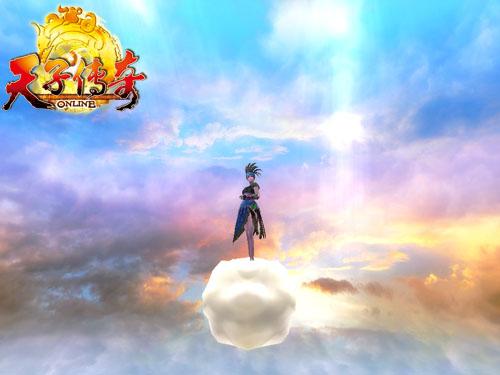 腾云驾雾做神仙 天子传奇最新坐骑超拉风